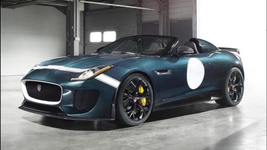 Jaguar F-Type Project 7, la più spettacolare di tutte