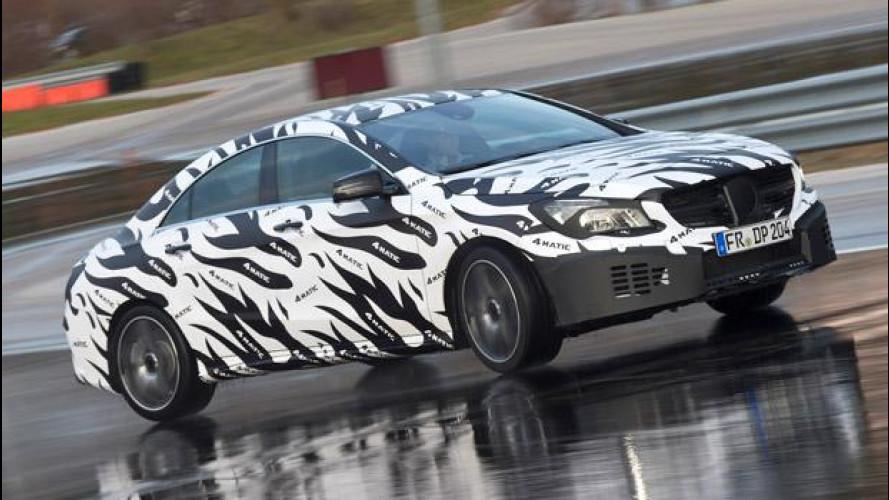 Mercedes CLA: pronto il nuovo sistema 4MATIC