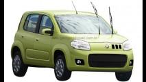 Novo Fiat Uno - Designer argentino mostra projeção de como pode ser o modelo