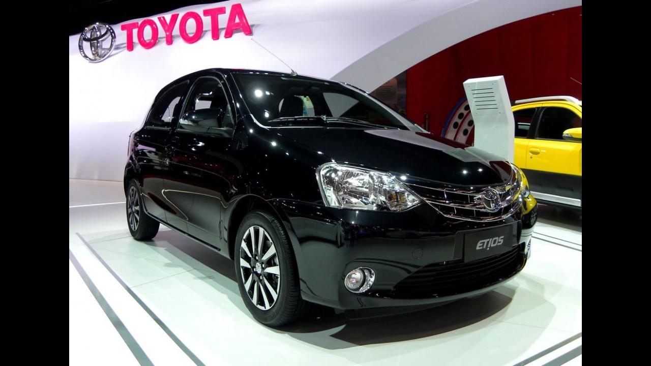 Carro-chefe da Toyota, Etios começa a ser exportado para o Uruguai e Paraguai