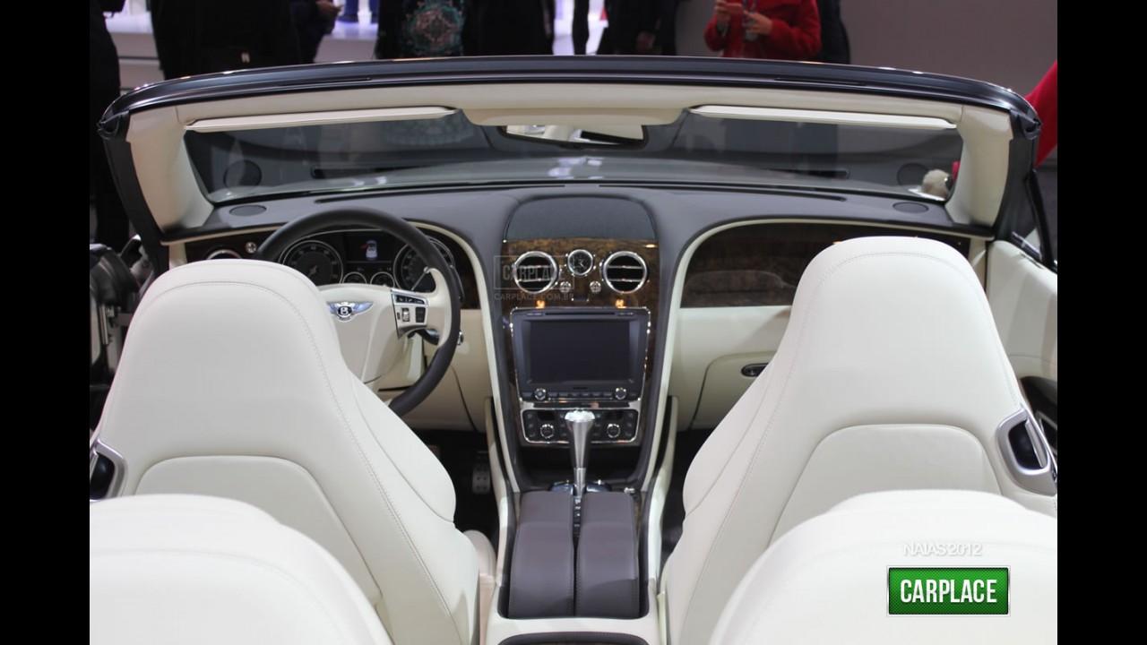 Salão de Detroit: Fotos do Novo Bentley Continental GTC