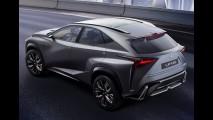 Lexus confirma anti-Evoque - LF-NX chegará ao Brasil em 2014