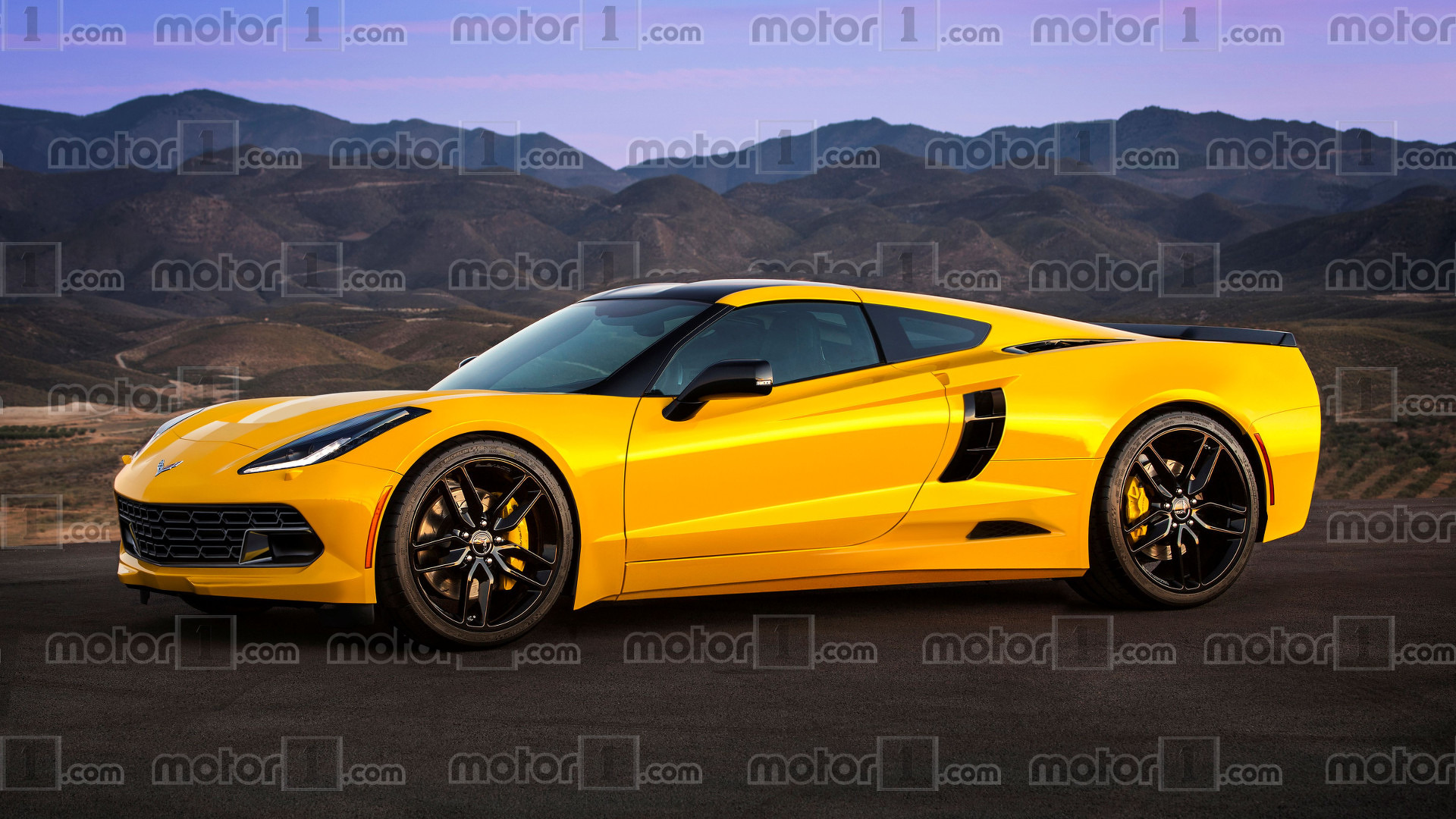 Chevy Teases Mid Engined Corvette To Dealers