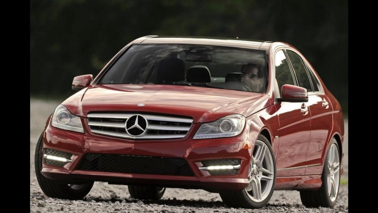 Mercedes pretende construir nova fábrica no Brasil para produzir o Classe C