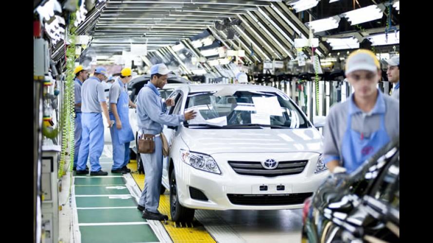 Toyota investirá R$ 1 bilhão para construir nova fábrica de motores no Brasil