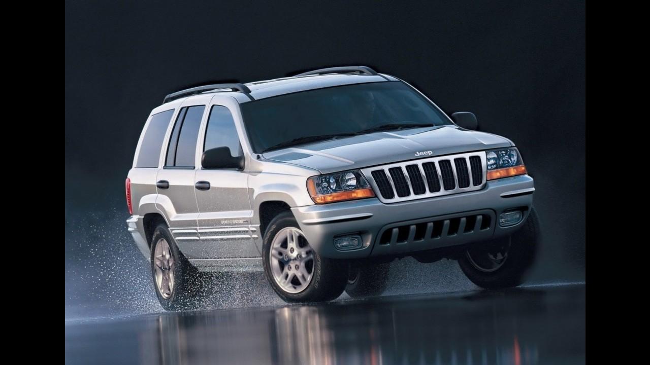 Jeep convoca 900 mil unidades dos modelos Grand Cherokee e Liberty para recall ao redor do mundo