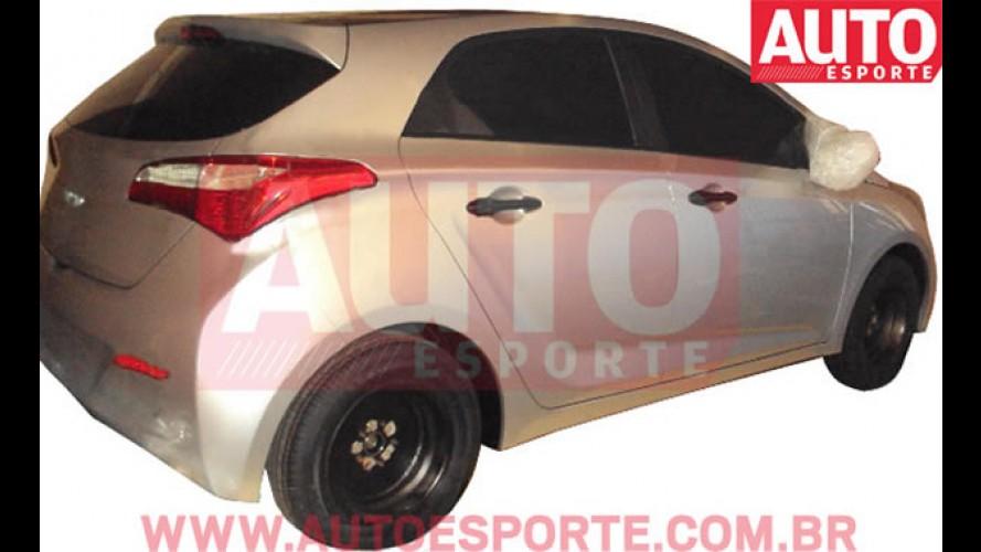 Hyundai HB - Auto Esporte flagra o novo compacto brasileiro