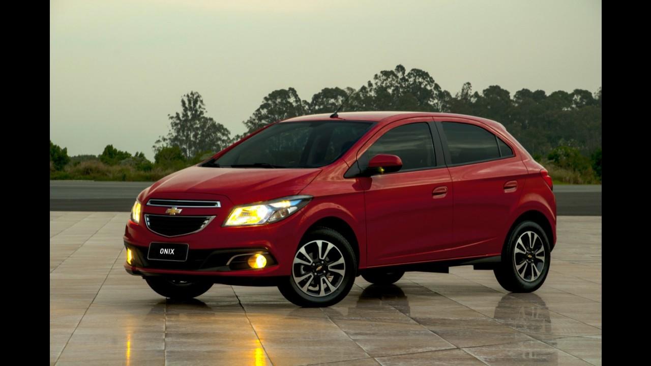 GM comemora 2 milhões de unidades produzidas em Gravataí/RS - Unidade produz o compacto Onix
