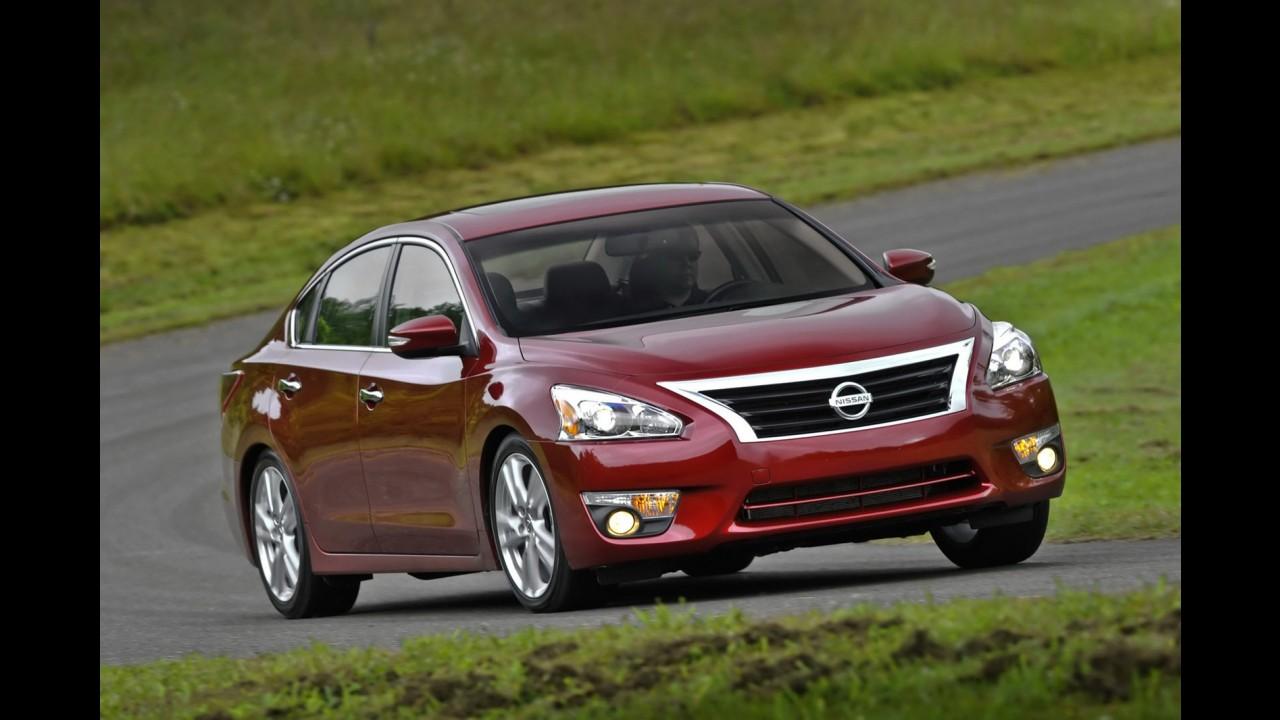 Nissan divulga nova leva de imagens do novo Altima 2013 - Veja galeria completa