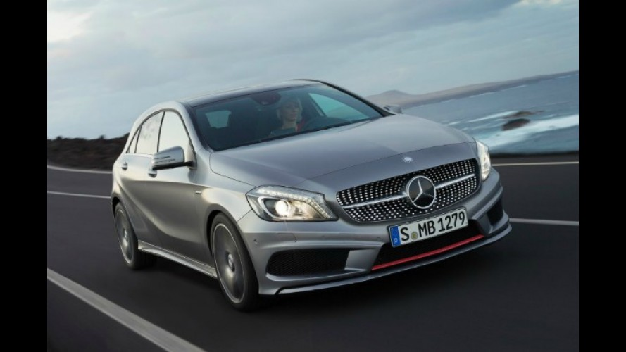 Mercedes confirma motores do novo Classe A