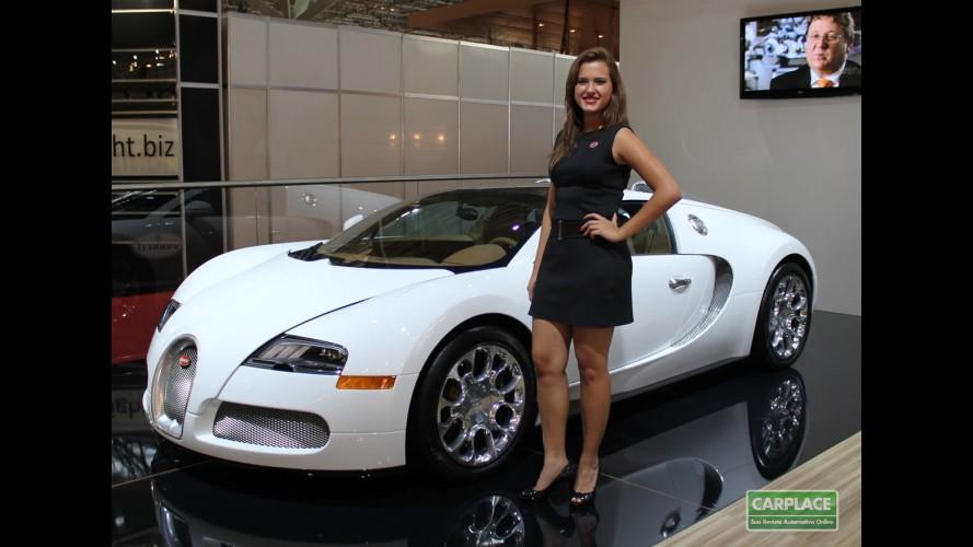 """Fotos: Bugatti Veyron Grand Sport é a """"grande"""" estrela do Salão do Automóvel"""