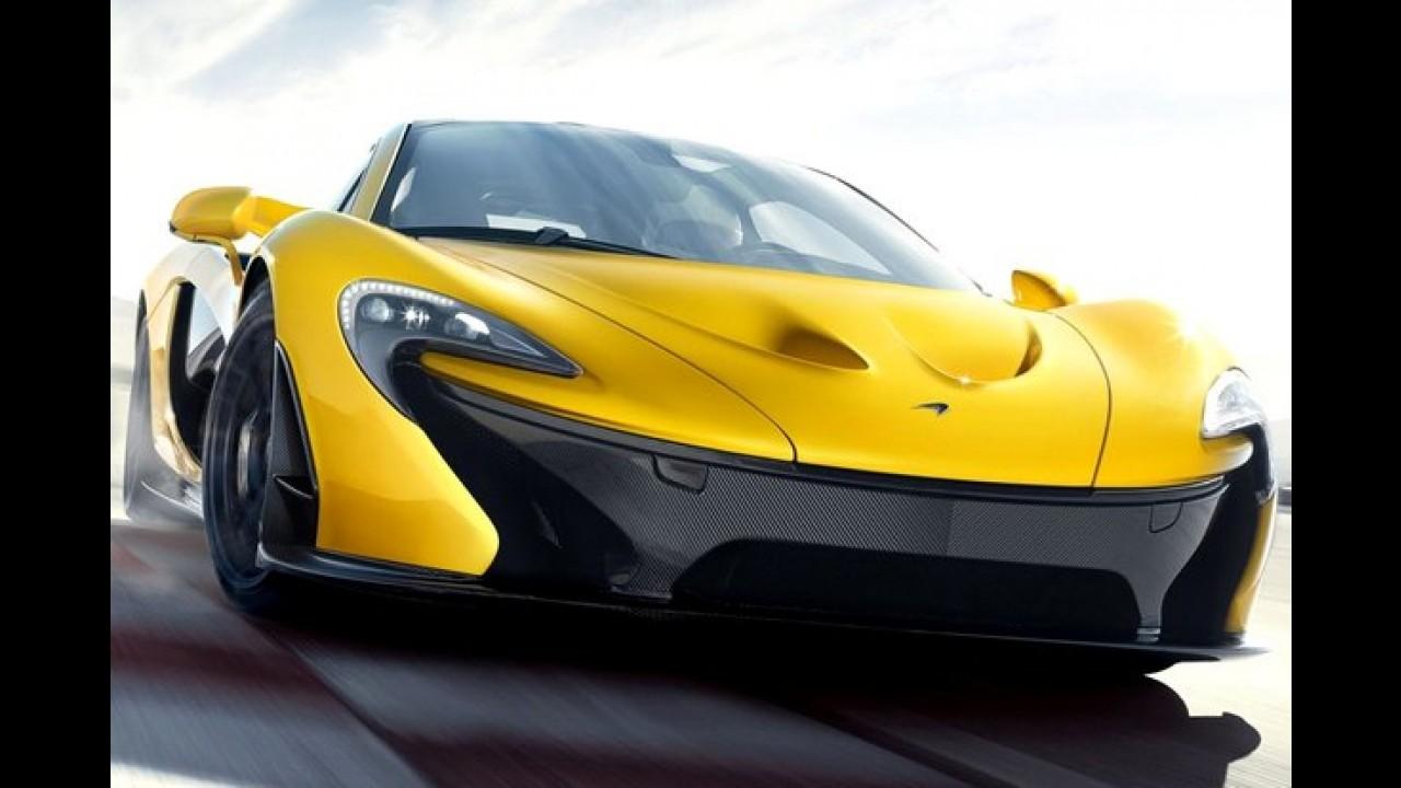 McLaren pretende eliminar os limpadores de para-brisa até 2015