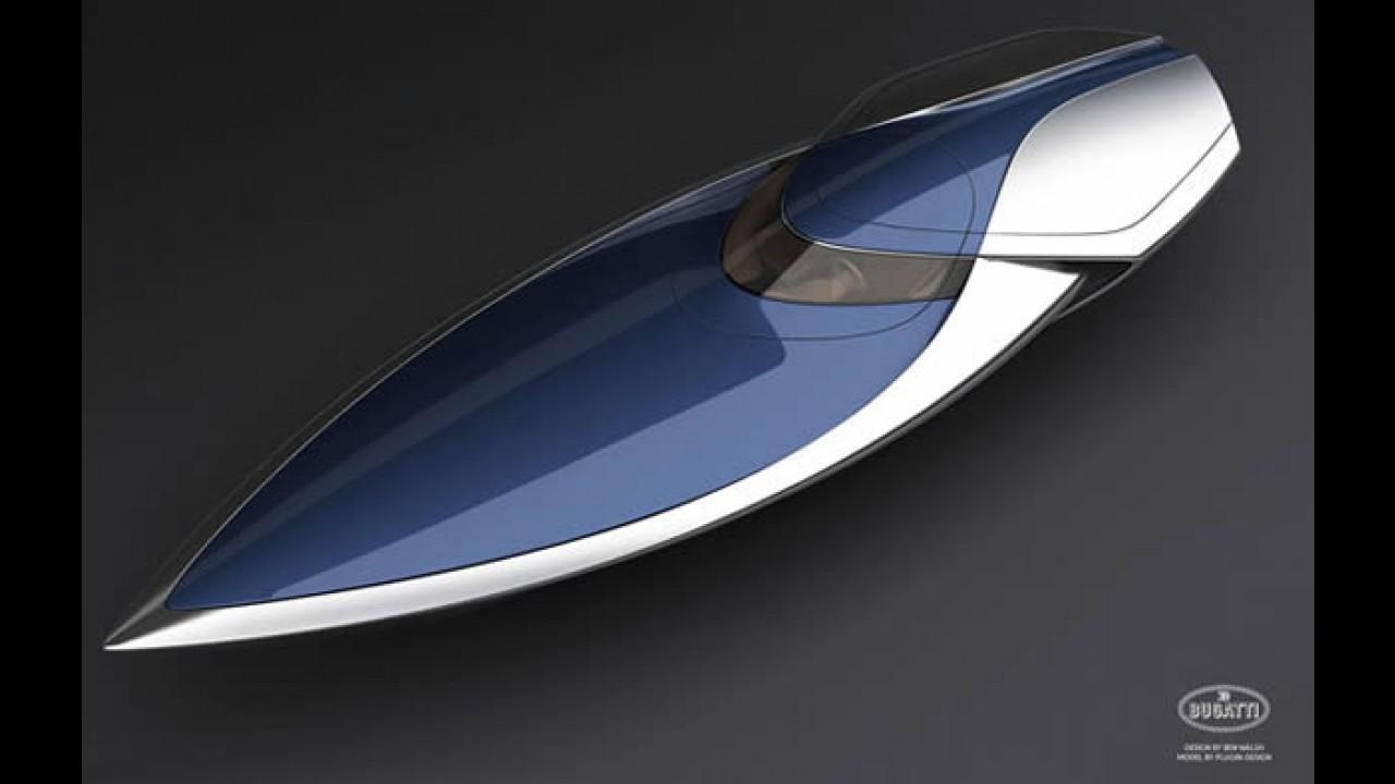 Designer cria lancha inspirada no Bugatti Veyron Sang Bleu
