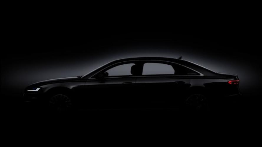 [Copertina] - Nuova Audi A8, le prime immagini