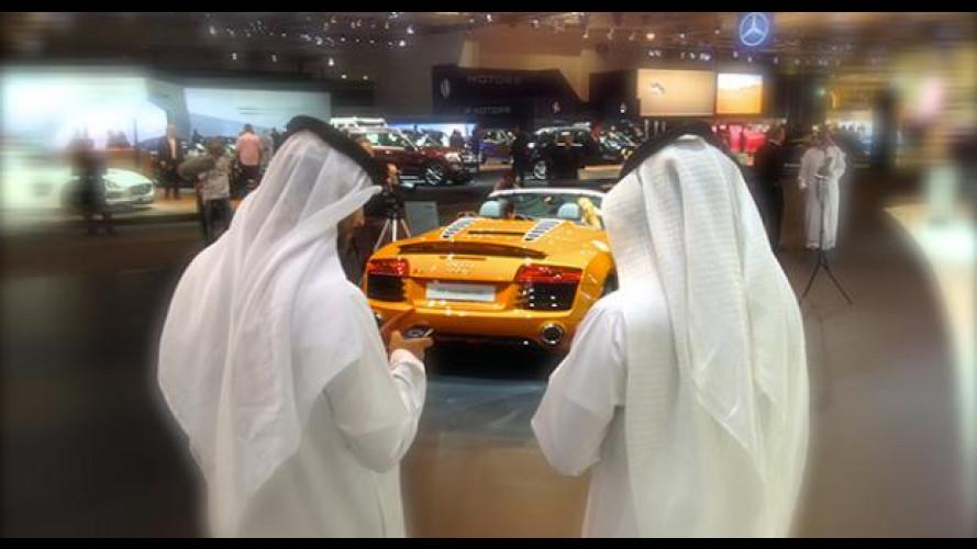 Dubai Motor Show: dove l'auto da sogno si vede e si compra ancora