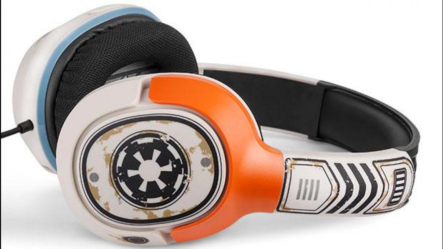 Suono stellare con le nuove cuffie Star Wars
