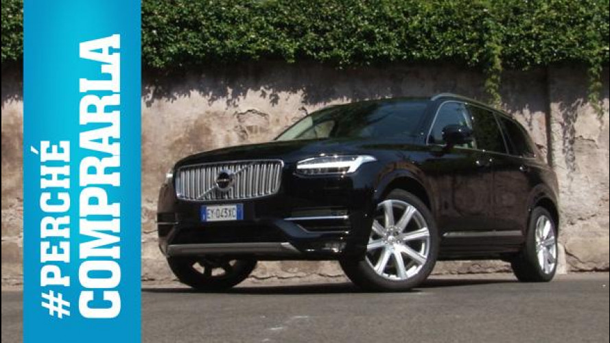 Volvo XC90, perché comprarla... e perché no [VIDEO]