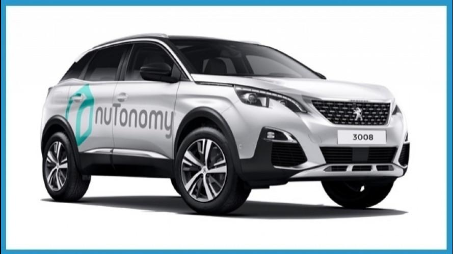 PSA, nuova partnership per la guida completamente autonoma