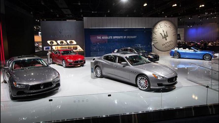 Maserati, a Los Angeles c'è tutta la gamma