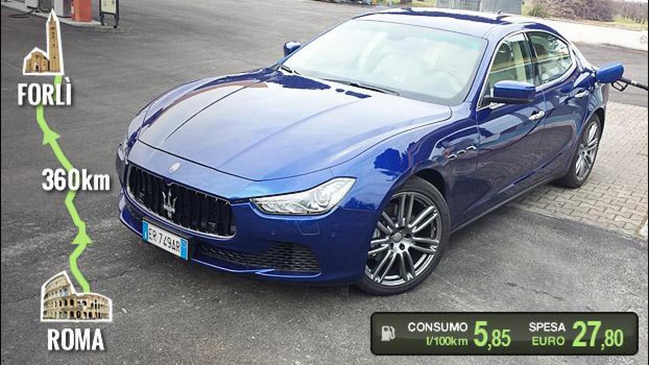 [Copertina] - Maserati Ghibli Diesel, la prova dei consumi reali