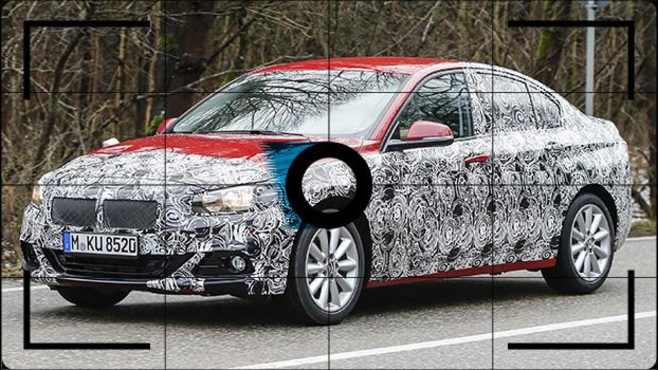 [Copertina] - BMW Serie 1, è in arrivo la berlina 3 volumi