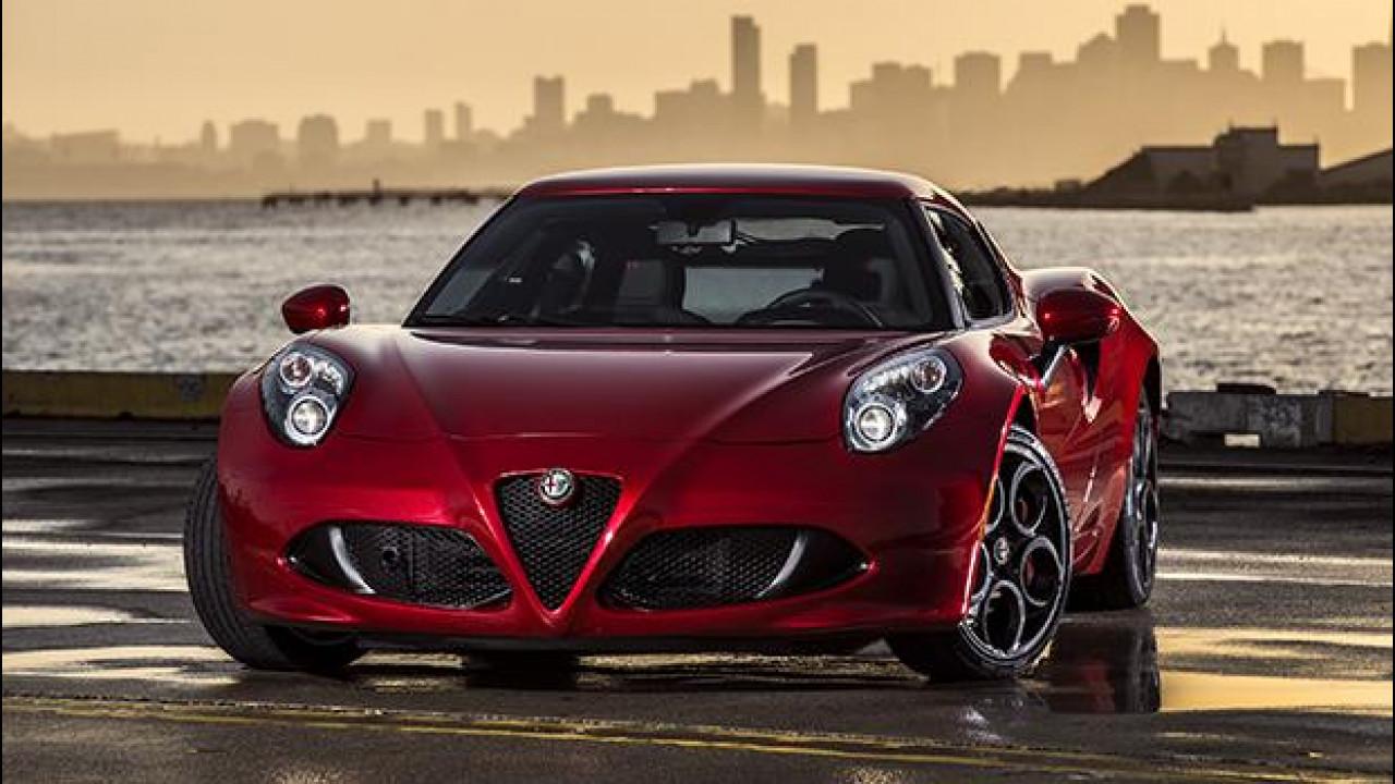 "[Copertina] - Alfa Romeo 4C, quella americana diventa più ""di classe"""