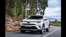 Toyota RAV4, la prova dell'ibrida