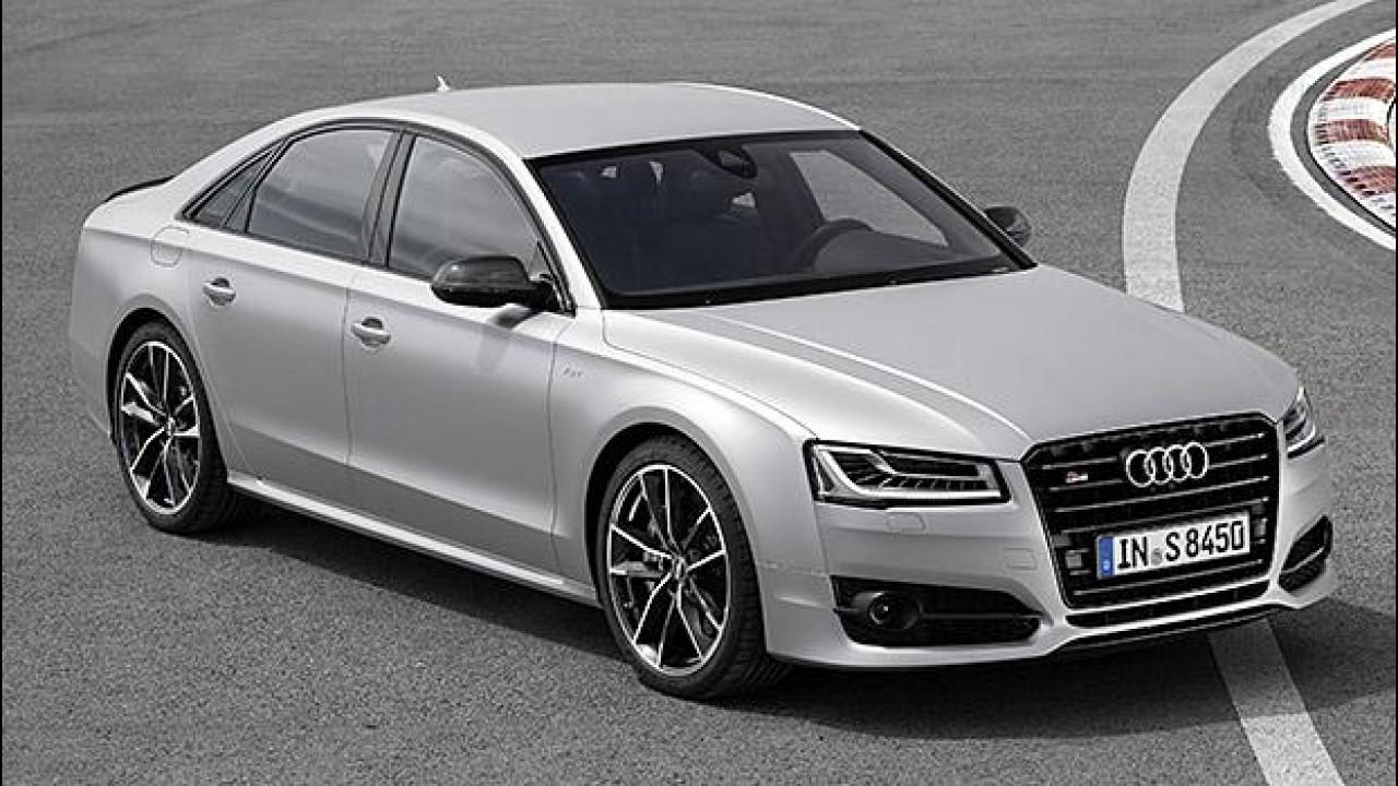 [Copertina] - Audi S8 plus, quando i cavalli non bastano