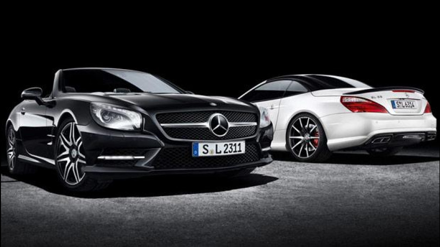 Mercedes SL 2LOOK Edition: spider di lusso