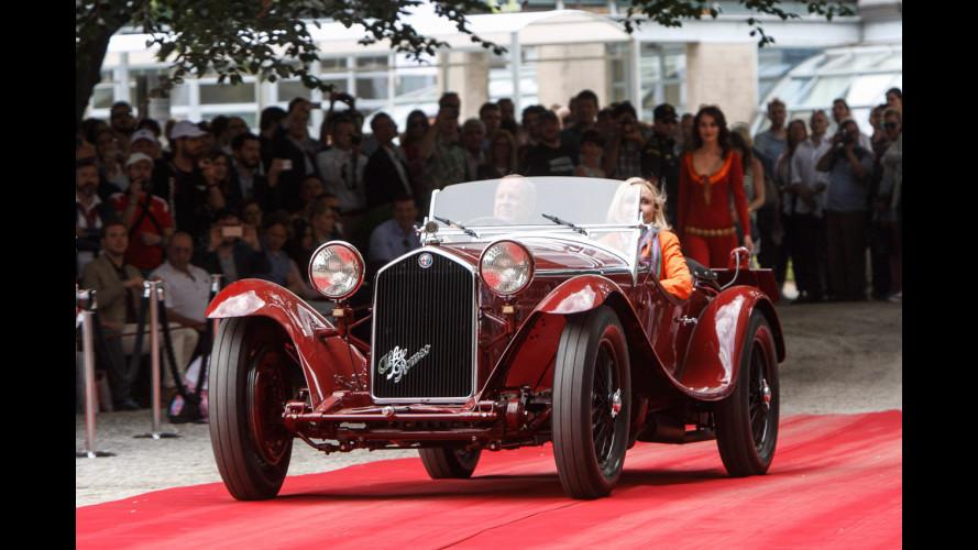 Villa d'Este 2015, trionfo Alfa Romeo e Ferrari