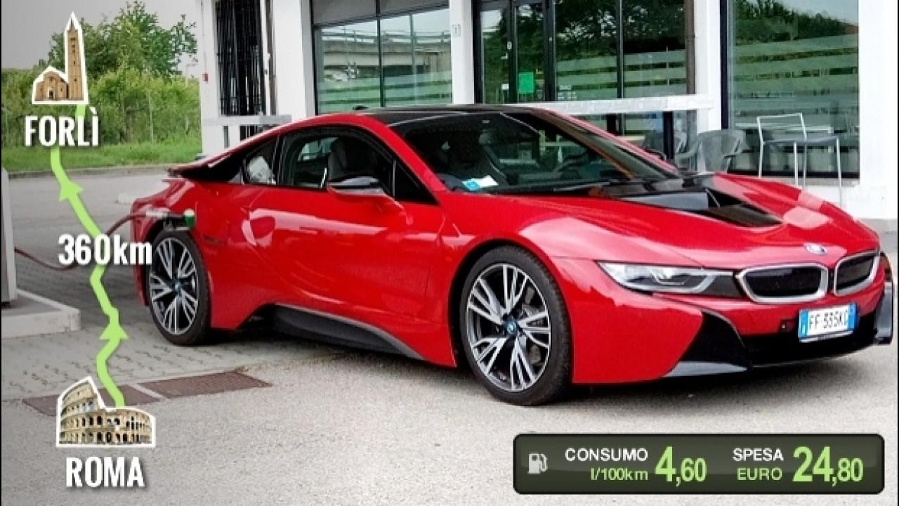 [Copertina] - BMW i8, la prova dei consumi reali