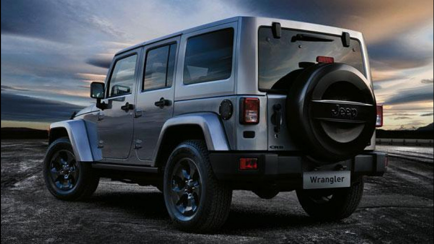 Jeep Wrangler Black Edition, in vendita da 47.900 euro