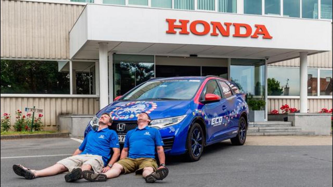 [Copertina] - Honda entra nel Guinness dei Primati per un consumo bassissimo