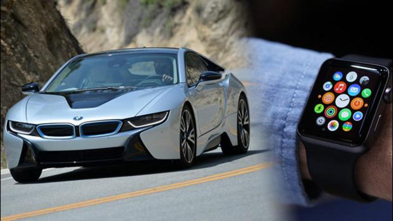 [Copertina] - Apple Watch, BMW e Tesla le prime auto compatibili