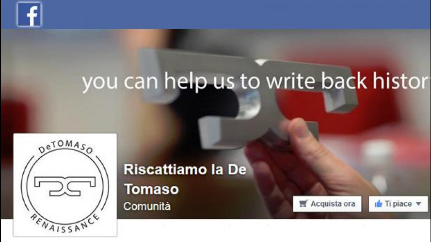 [Copertina] - De Tomaso, chi sono gli italiani che provano a salvarla tramite Facebook