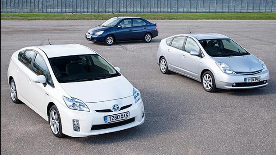 Toyota Prius, l'ibrida che ha fatto storia