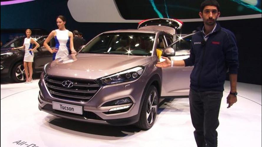 Hyundai Tucson, da Ginevra vi spieghiamo quant'è diversa dalla ix35