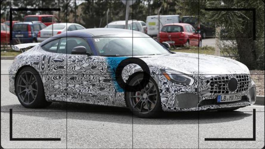 Mercedes-AMG GT R, gli ultimi test