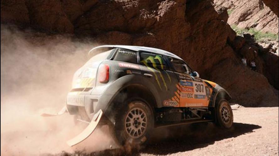 Dakar 2014, tappa 6: al comando resta un terzetto di MINI