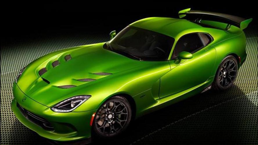 SRT Viper Stryker Green: la vipera diventa verde