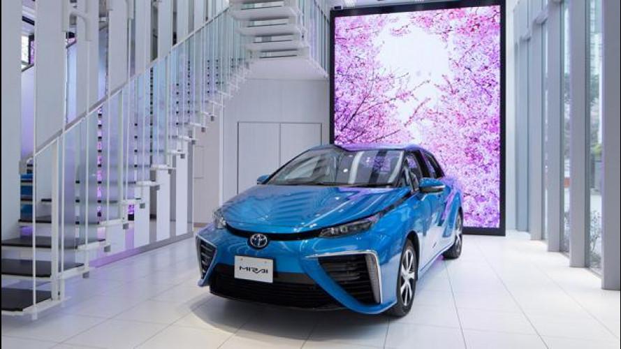 Toyota Mirai rivoluziona il modo di vendere un'auto