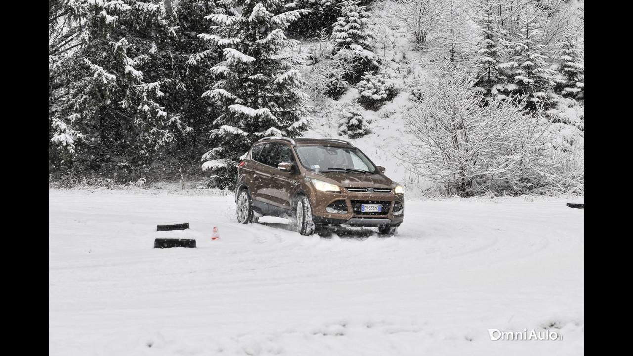 Omniauto.it School Snow 2015, Hot Lap