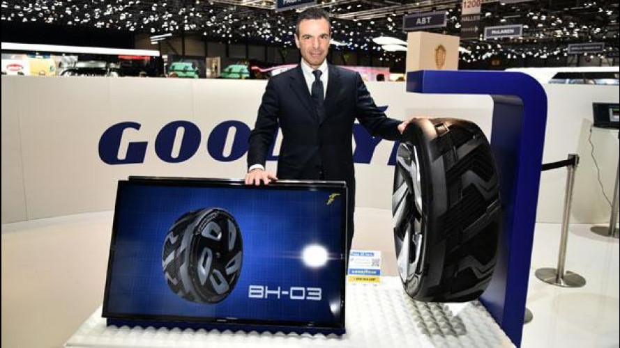 """Salone di Ginevra: il futuro di Goodyear è lo pneumatico """"elettrico"""""""