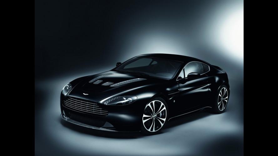 Aston Martin V12 Vantage e DBS Carbon Black Editions