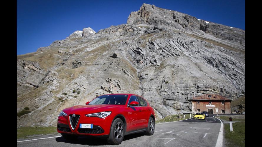 Alfa Romeo Stelvio: alla conquista dei tedeschi, in tutti i sensi