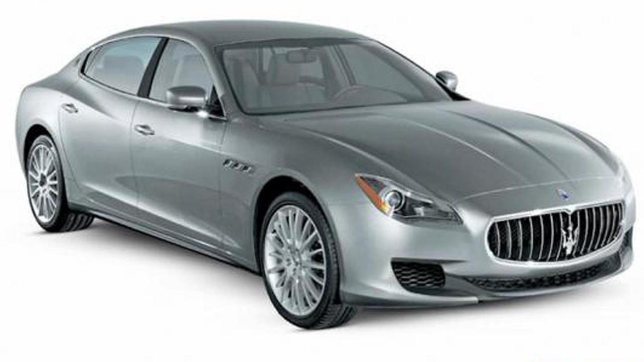 2013 Maserati Quattroporte leaked image 24.1.2012
