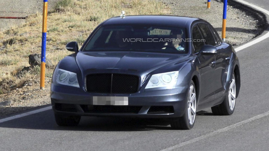 2014 Bentley Continental Flying Spur teased for a second time [video]