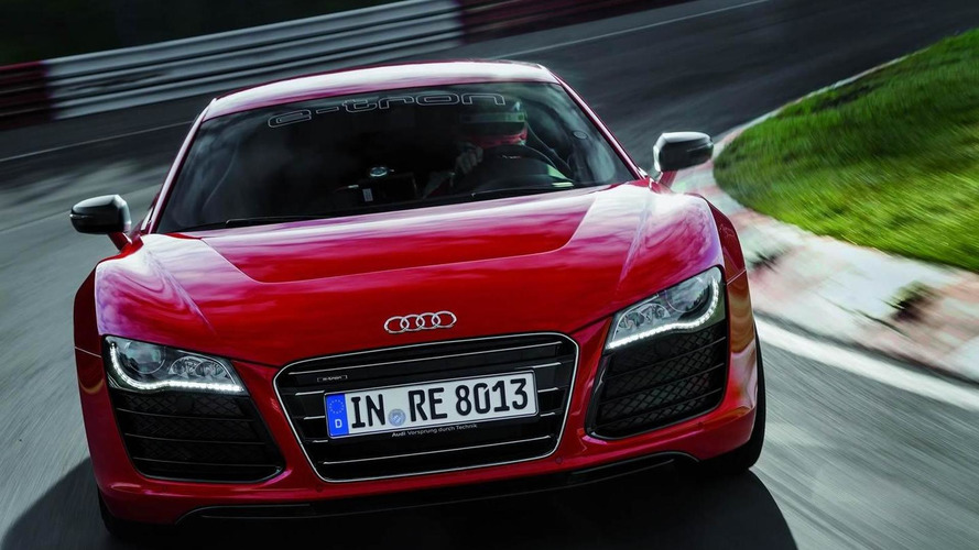 Audi R8 e-tron sets record 8:09 time around Nurburgring