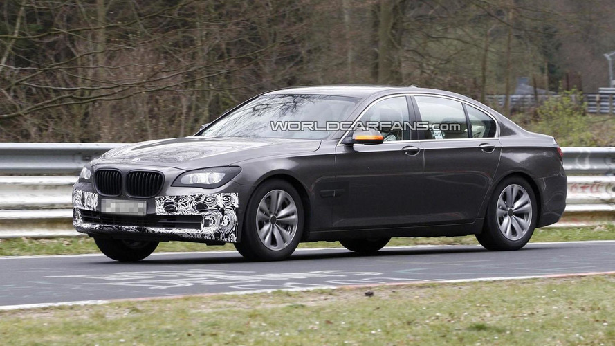 2013 BMW 7-Series facelift spied undergoing testing