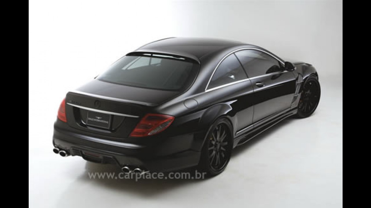 Coupé Mercedes Benz CL Class tunado por Wald International